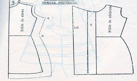 Patrones para hacer vestidos de niña - Imagui