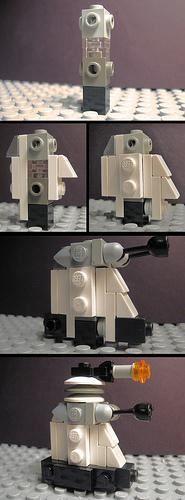 More fun for Aidan to build! LEGO - Dalek Instructions | ReBrick | From LEGO Fan To LEGO Fan