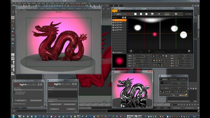 HDR Light Studio 3.5 - Live for Maya & LightPaint. Hi, this video has been created for our beta testers of HDR Light Studio 3.5 and the Live...