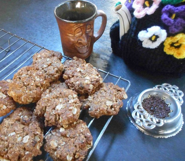 My recipe for Anzac Biscuits. Lovely with a cuppa and a friend.