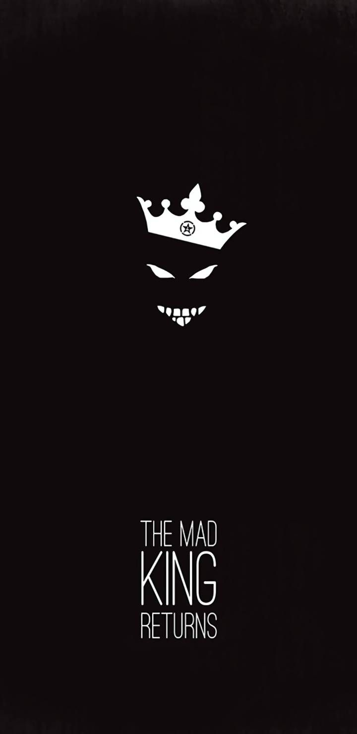The Mad King Returns Iphone Wallpaper Crazy Wallpaper Joker Iphone Wallpaper Scary Wallpaper