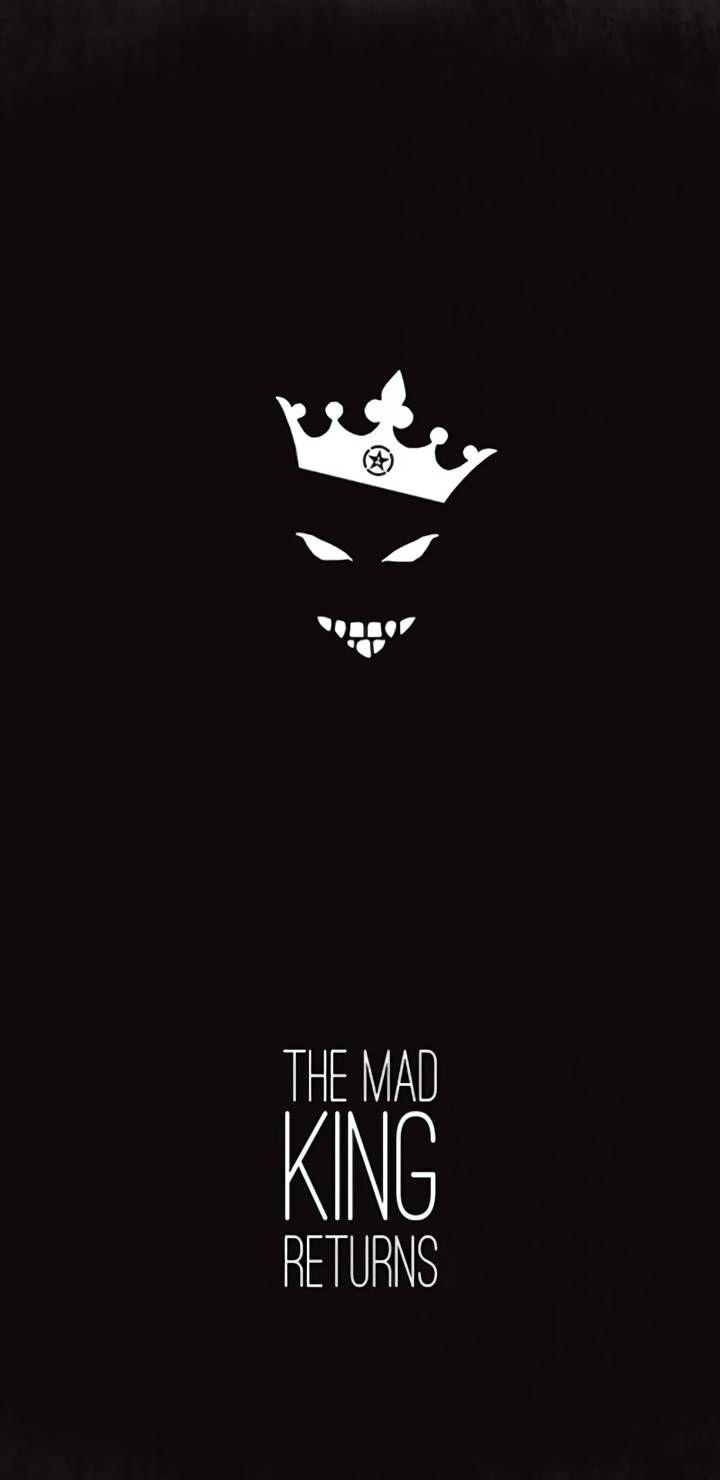 The Mad King Returns Iphone Wallpaper Crazy Wallpaper Cartoon