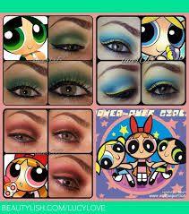 powerpuff girl makeup - Google Search