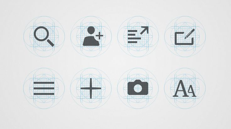 Territory Studio / The Guardian Iconography #graphic #design #icon #ui #interface