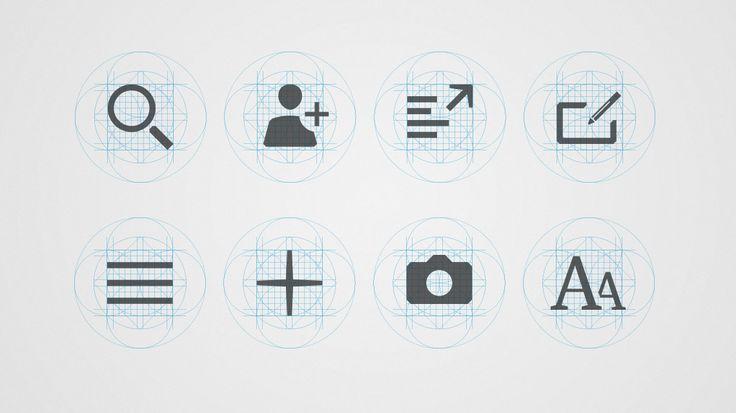 Territory Studio / The Guardian Iconography #graphic #design #icon #ui #interface
