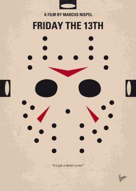minimal minimalism minimalist movie poster chungkong film artwork friday the 13th jason voorhees