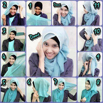 Tutorial Hijab Modern 47