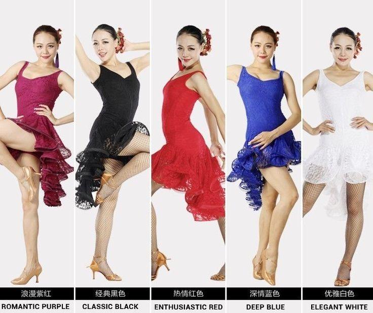 Latino salsa tango tanzkleid latein kleid #S8022