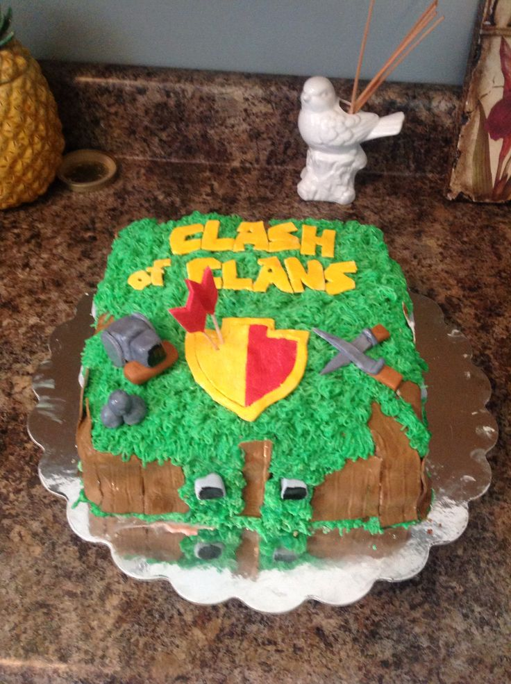 Cake Design Coc : 1000+ images about Clash of clans birthday on Pinterest ...