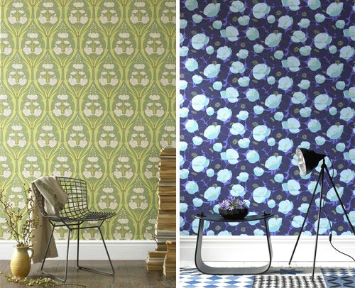 Amy Butler and Kelly Hoppen Wallpaper in main home furnishings  Category