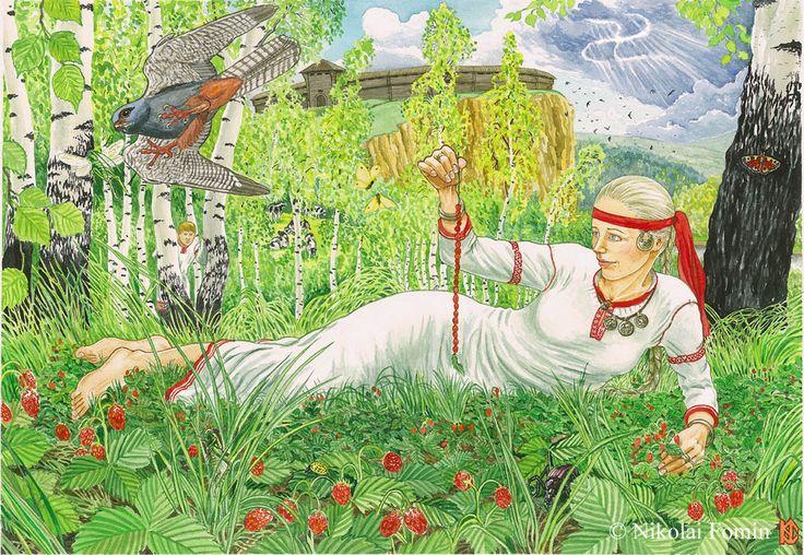 Strowberries by Nikkolainen on DeviantArt (Земляника)