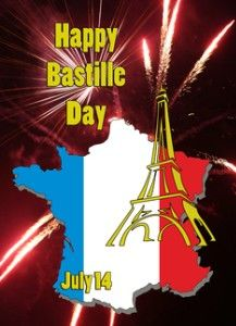 happy bastille day greeting