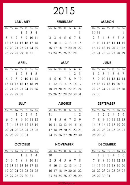 The 25+ best Blank calendar template 2015 ideas on Pinterest - calendar sample design