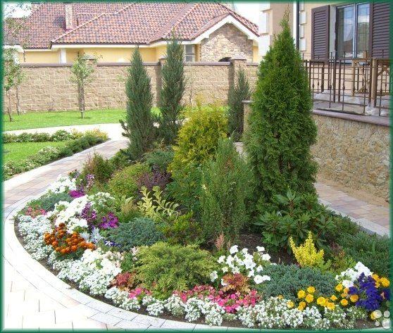 Ландшафтный дизайн дача сад