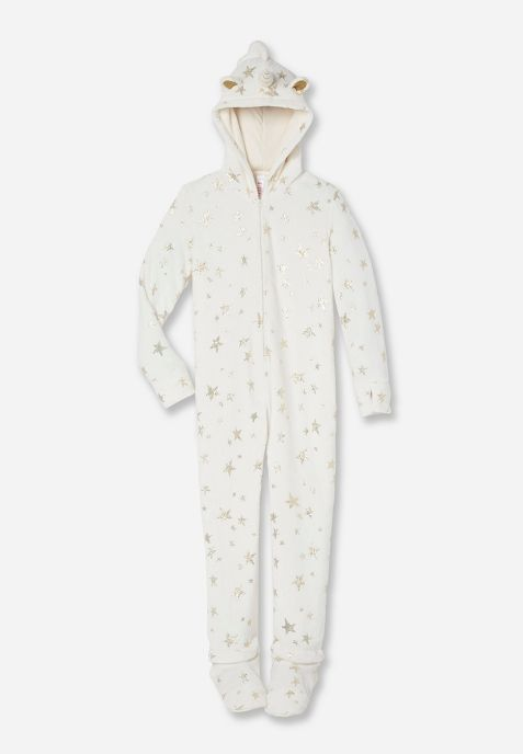 Tween Clothing & Fashion For Girls  | Justice Unicorn Onesie $40