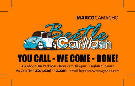 Mobile Car Wash Flyer