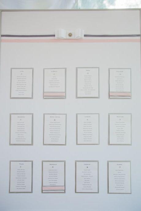 les 53 meilleures images du tableau mariage gris et rose poudr sur pinterest mariages gris. Black Bedroom Furniture Sets. Home Design Ideas