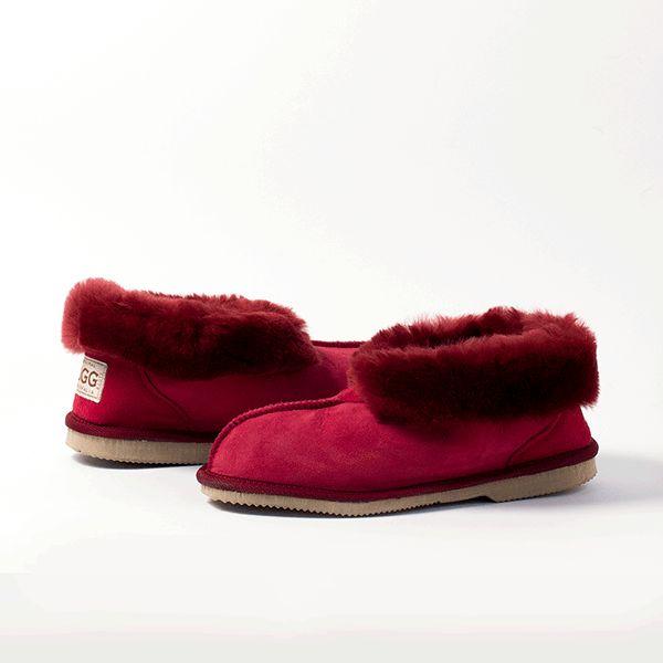 Ruby UGG Slippers #ruby #red  #sheepskin #ugg #boots #slippers #uggboots #australia #aussie #australian