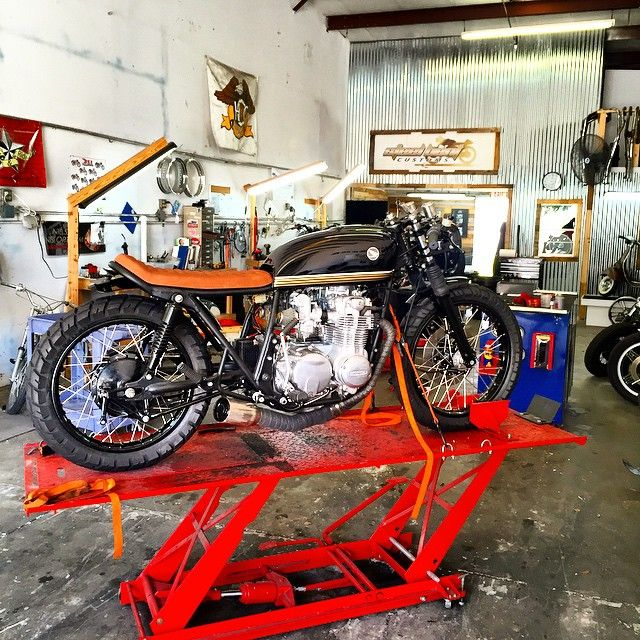 1978 Honda CB550 Off To Dubai Soon After Erickrunyonphotographs Has His Way With UaeCb550Motorcycle