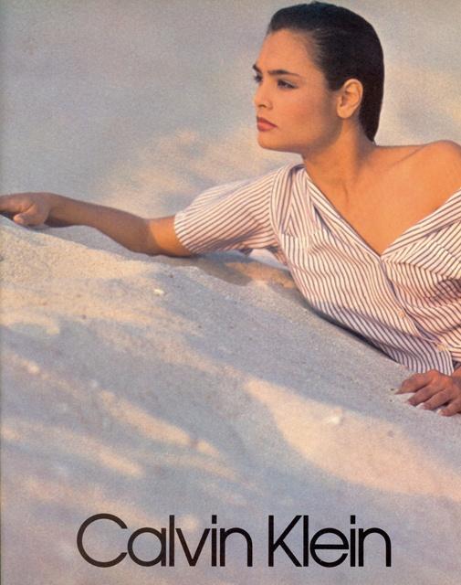 Talisa Soto for Calvin Klein