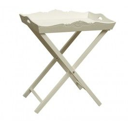 White Tray on Stand £30