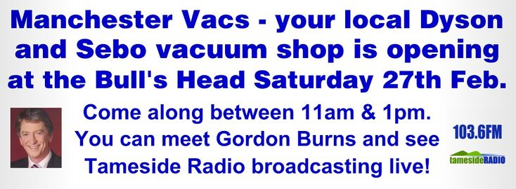 We are physically moving from our current location on Abbey Hey Lane on Wednesday the 24th (when we are usually closed). We are open in our new location Thursday the 25th. Our official opening party with Gordon Burns and a live broadcast from our shop with Tameside Radio 103.6 FM is between 11am and 2pm on Saturday the 27th February.   For anyone local, there will be nibbles, drinks, a chance to meet Gordon Burns (a great selfie opportunity  :-X), peek around our new shop, meet the…