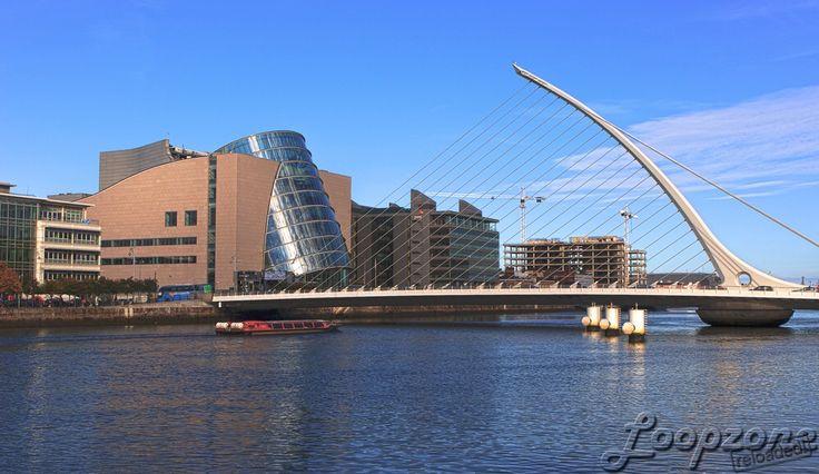 #hdr #Dublin #Irland #Liffey #SamuelBeckettBridge HDR-Fotografie www.Loopzone.de