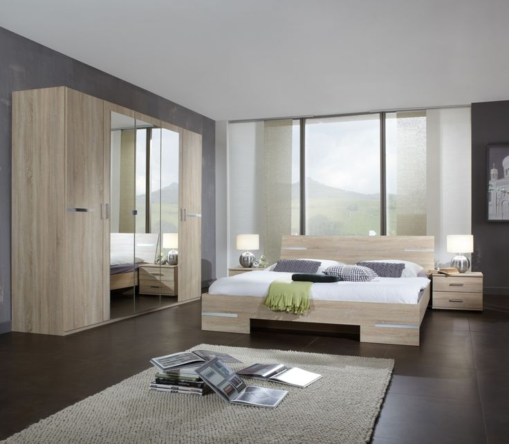31 best Chambre adulte complète images on Pinterest - schlafzimmer set modern