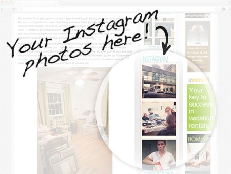 How to add instagram widget to your blog
