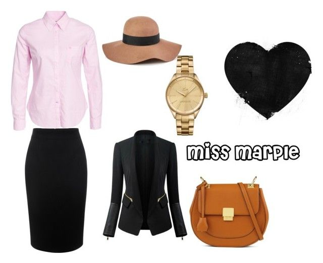"""""""miss marple"""" by mary-minge on Polyvore featuring Morris, Alexander McQueen, Chicsense, Reiss, ALDO and Lacoste"""