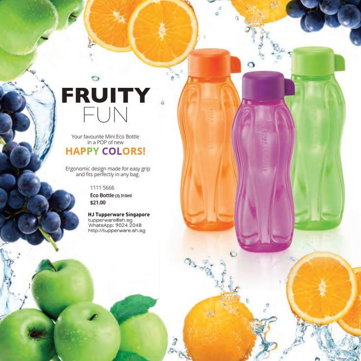 New 310ml Tupperware Eco Bottles are here! – Buy Tupperware Online ...