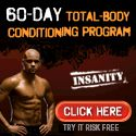 If you want a great cardio workout that will get you DRIPPING, Shaun T's Insanity is for you!