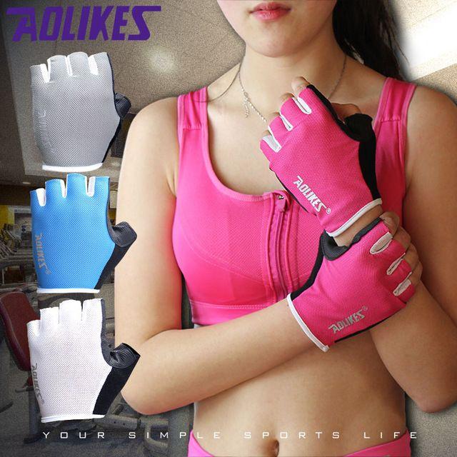2017 Новый Женщины/Мужчины Перчатки Тренажерный Зал Бодибилдинг Обучение Спорт Перчатки для Фитнеса Упражнение Тяжелая Атлетика Перчатки Мужские Перчатки Женщин