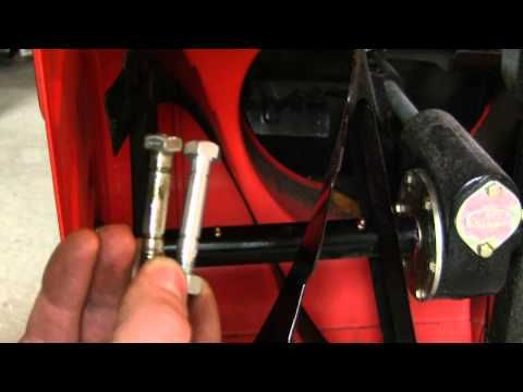 How to Lubricate Ariens snowblower augers and replace shear pins