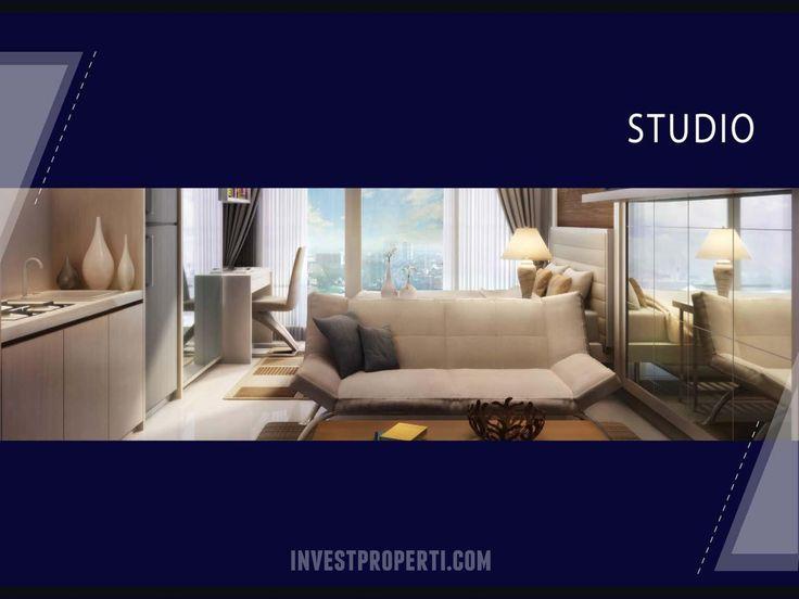 Apartemen Bintaro Plaza Tipe Studio.