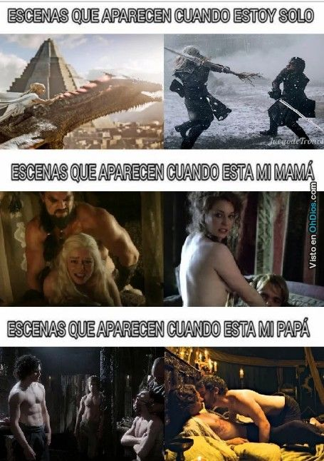 El problema de ver Game of Thrones