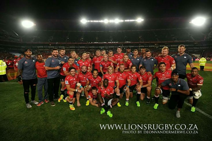 Our Emirates Lions who played a thriller of a game!! We are so proud of you!!  #LeyaTheLion #Liontaiment #Lions4Life #SuperRugby #EmiratesLions #BeThere #MyLionsMoment #LionsPride #LIOvSHA