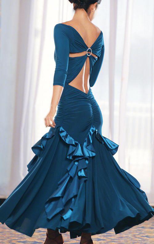 www.dancemothers.com  http://www.danceshopper.com/images/dancewear/womanswear/dress/Dance-America-D301---Long-Chameuse-Ruffled-Ballroom-Dress-m.jpg