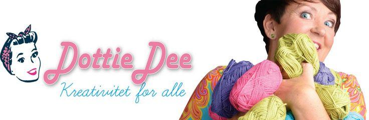 onlinekurs -nettbutikk -oppskrifter-mønstre - hekling- strikking-scrap-diy-gjør det selv-maleteknikkerDottie Dee | Kreativ inspirasjon
