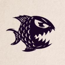 PESCADOS CAPITALES - Pescados Capitales es un restaurante de pescados y mariscos, el desafío era crear una identidad divertida y que tuviera relación con los siete pecados capitales, para lo cual se crearon siete personajes marinos, uno para cada pecado y cada uno acompañado de dichos populares. Los pecados representados por estos personajes son los protagonistas de diversas piezas que tienen un carácter divertido y lúdico.