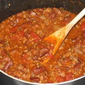 Boilermaker Tailgate Chili. Best chili ever.