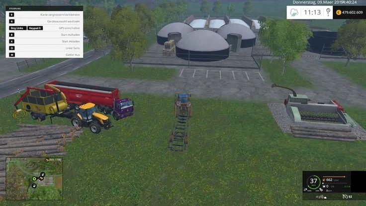 Landwirtschafts Simulator 15/Bäume Fällen