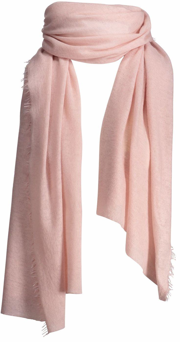 Helsinki scarf, 70x195cm, crystal pink