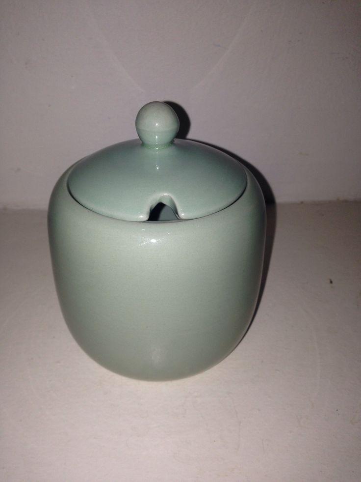 Beryl ware mustered jar rare 1940s love it