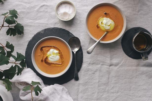 Eleanor Ozich's Carrot, Sweet Potato and Cashew Soup Recipe - Viva