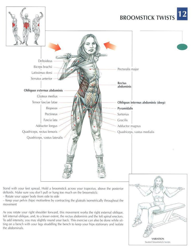 Broom Stick Twists ~ Repinned by Crossed Irons Fitness