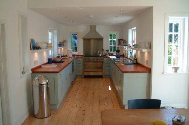 1930's house. Kitchen.