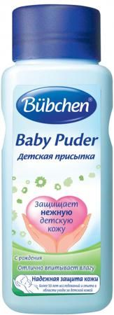100 г  — 214р. ------------------------------------------------- Детская присыпка Bubchen - прекрасная естественная мягкая и нежная защита кожи Вашего малыша. Рекомендуется для удаления излишков влаги и уменьшения трения между кожей и пеленками/подгузниками внутри кожных складок. Защищает складки кожи от покраснений, раздражений и натираний. Быстро впитывает влагу. Не закупоривает поры, сохраняет кожное дыхание.  Особенности:  На основе чистого минерального талька. Без красителей и…
