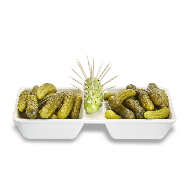 Toothpick Pickle Appetizer Tray
