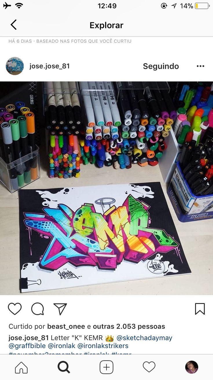 Graffiti Alphabet Graffiti Lettering Marker Art Sketch